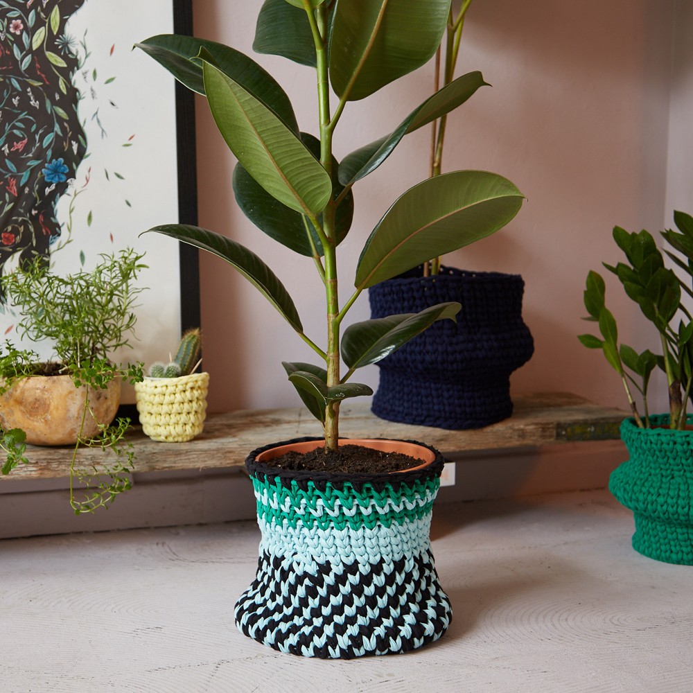Weavy Multi Large Plant Pot The Mama Made